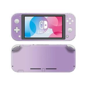 Image 3 - Однотонная розовая наклейка для Nintendo Switch, наклейка для Nintendo Switch Lite, Защитная Наклейка для Nintendo Switch Lite