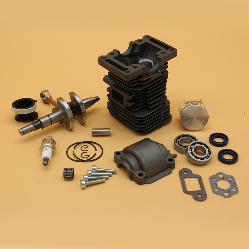 MS180 Gasoline MS Chainsaw 38MM STIHL Engine HUNDURE 180 Disc 11300201208 Cylinder Piston Gardening Oil For Bearing Saw Seal 018