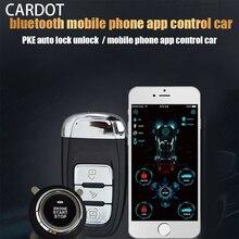 לcardot APP להתחיל להפסיק Bluetooth להתחבר חכם רכב מפתח Pke Keyless כניסה מרחוק המתנע מנוע להתחיל להפסיק רכב + אזעקות