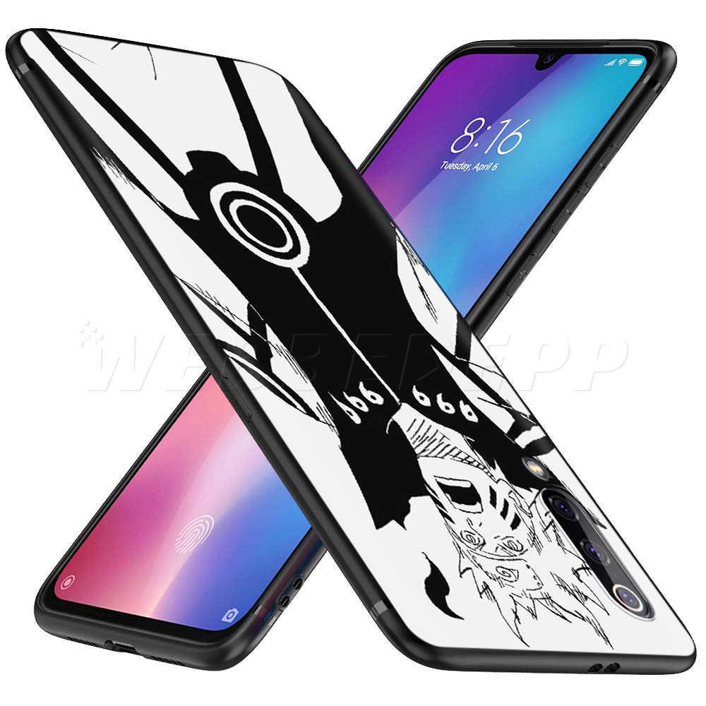 Jepang Sketsa Anime Naruto Case untuk Xiaomi Redmi 4A 4X5 5A 6 6A 7 7A S2 Go k20 PRO PLUS Prime 8T