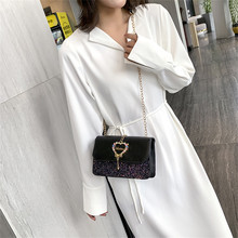 30# женская модная универсальная маленькая квадратная сумка, сумка через плечо, женская сумка
