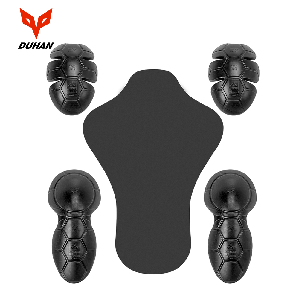DUAHN Motorcycle Protective Gear Motocross CE Protector Knee Pad Motorbike Body Armor Motorcycle Biker Equipment