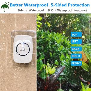 Outdoor Waterproof Cover Wireless Doorbell Double-sided Adhesive Smart Doorbell Ring Chime Tape Transmitter Supplies