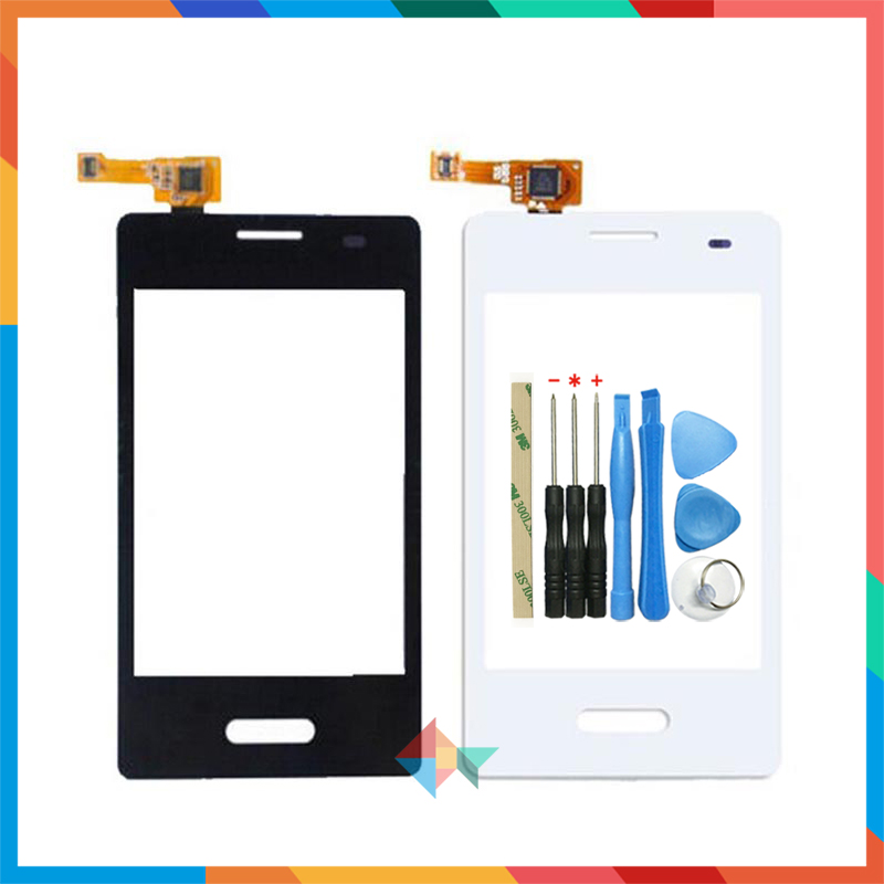 High Quality 3.2 For LG Optimus L3 II E430 E425 Touch Screen Digitizer Front Glass Lens Sensor Panel image