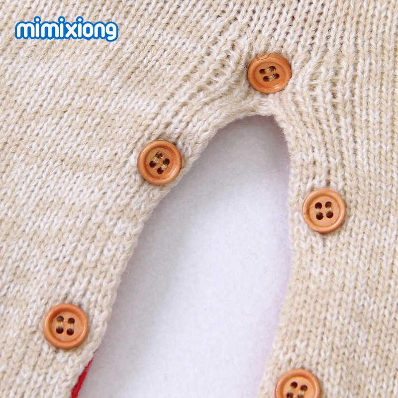 ベビーロンパース長袖新生児男の子女子ジャンプスーツ冬クリスマスニット幼児幼児オーバーオールワンピース子供服