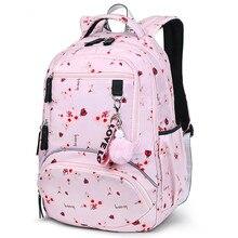 New Large schoolbag Women Students School Backpack Waterproof bagpack middle high school book bags for teenage girls kids