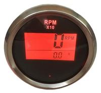 1pc Digital Tachometers 52mm 0 9900 LCD Revolution Meters for Auto Boat Agricultural Machinery Engines Generating Units