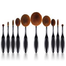 Gold Handle Professional Makeup Brush Set Beauty Tool