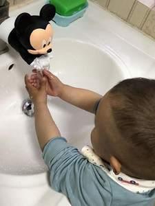 Faucet-Extender Kitchen-Accessories Wash-Hands Water-Saving Bathroom Cartoon Children