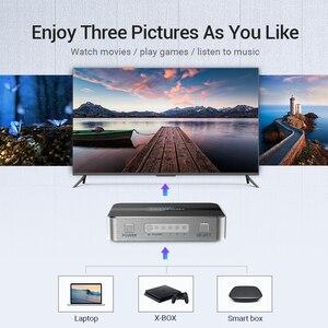 Image 4 - Ventie Hdmi Switch 4K 3 In 1 Out HDMI2.0 Switcher Splitter Met Afstandsbediening Schakelaar Voor PS4 Pc Tv xbox 2.0 Hdmi Adapter