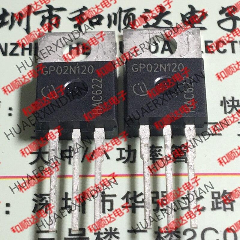Новый и оригинальный GP02N120 SGP02N120 TO-220 1200V 2A
