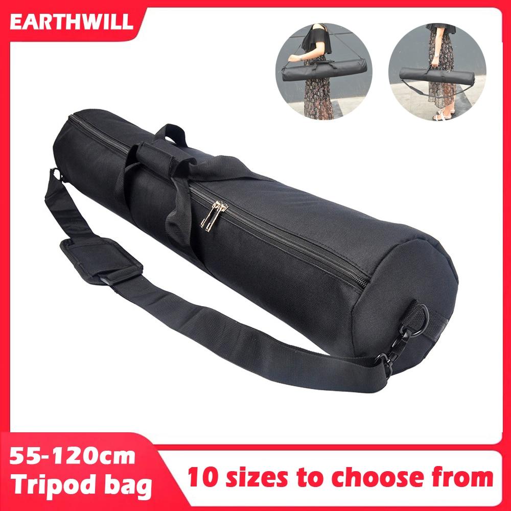 Thickened 55-120cm light stand tripod monopod camera case portable Monocular Telescope Fishing Rod Bag Oxford cloth photo bag(China)