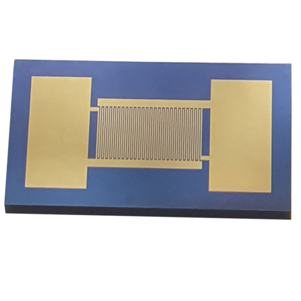 20um Interdigitated Gold Electrode Monocrystalline Silicon-based Capacitor Array High Precision Sensor Chip MEMS