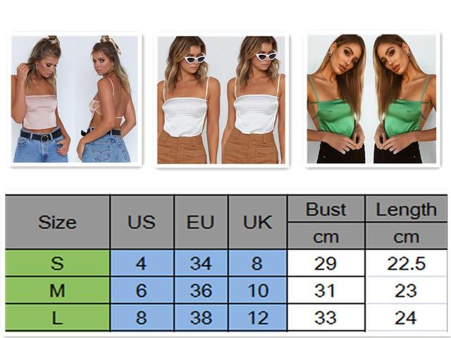 Sexy Womens Summer Leopard Camis Tanks Crop Tops Ladies Backless Tees Bandeau Sleeveless Vest Camis Tops Clubwear Uncategorized Fashion & Designs Women's Fashion