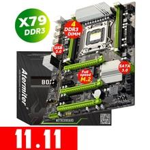 Atermiter X79ターボマザーボードLGA2011 atx USB3.0 SATA3 pci e nvme M.2 ssdサポートreg eccメモリとxeon E5プロセッサ