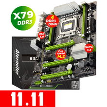 Atermiter X79 Turbo Scheda Madre LGA2011 ATX USB3.0 SATA3 PCI E NVME M.2 SSD Supporto REG ECC Memoria E Xeon E5 Processore
