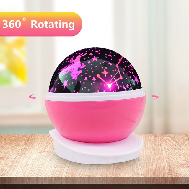 Romantic Starry Sky Led Night Light Projector Battery Usb Night Light Novelty Luminous Toys Creative Birthday Toys For Children 3
