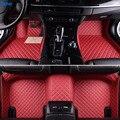 Tane кожаные автомобильные коврики для ford fiesta mk7 explorer 5 everest kuga 2008 fusion 2008 2014 2015 edge аксессуары ковер