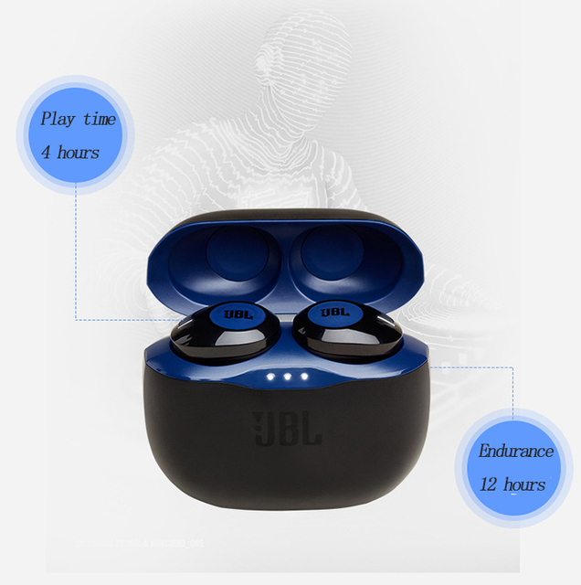 T120TWS wireless bluetooth headset stereo earbud subwoofer headset headset with microphone charging box