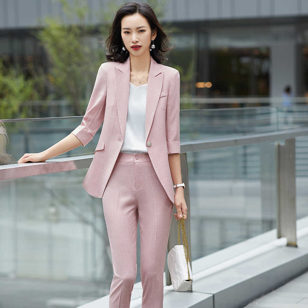 Bürodame Anzug Japanische Japanische Frau