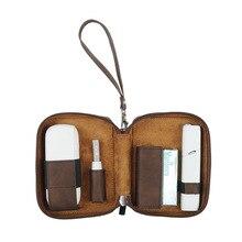 Чехлы из искусственной кожи для IQOS 3,0 DUO с шнурком, многофункциональные сумки для хранения для IQOS, универсальный чехол для аксессуаров Ecig