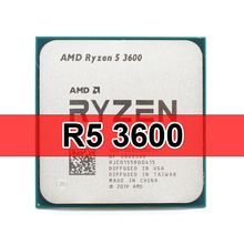 CPU Processor Amd Ryzen 3600-3.6ghz 5-3600 AM4 Six-Core Twelve-Thread 7NM 65W No L3--32m
