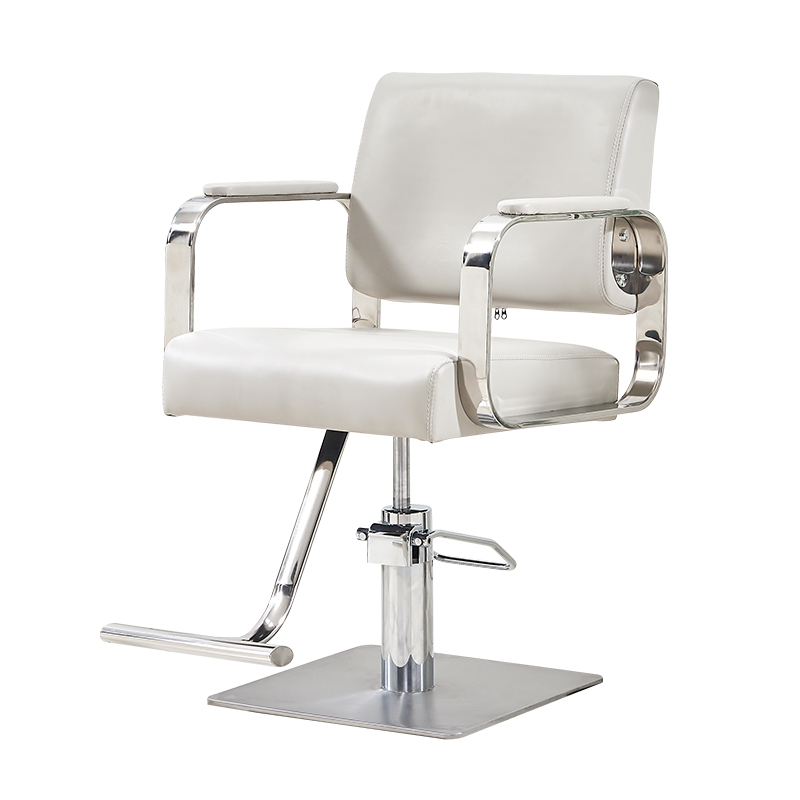 Hairdresser Chair Hairdresser Chair Stainless Steel Armrest Hairdresser Chair