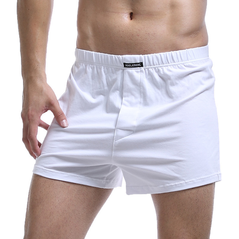 Plu Size Cotton Health Brand Men's Boxer Boxers Home Comfort Large Size Trousers Cotton Comfortable Breathable Shorts