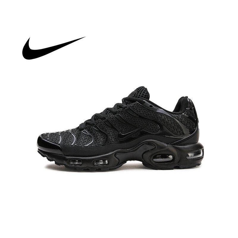 Ban Đầu Nike Air Max Plus TN Bộ Nam Thoáng Khí Thể Thao Thiết Kế Hấp Thụ Sốc Bền Ngoài Trời Giày Thể Thao Sneaker