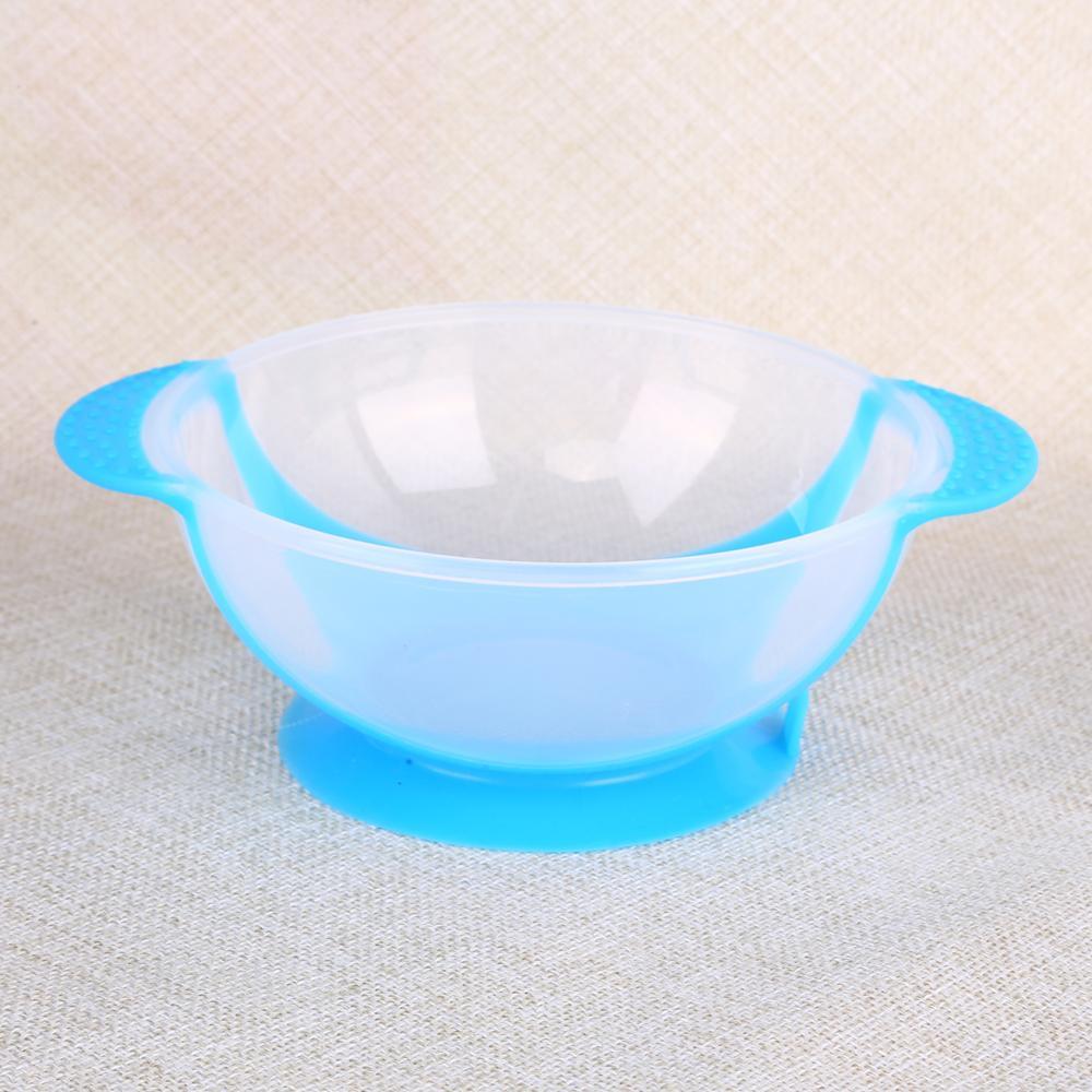 Креативная обучающая посуда для кормления ребенка, детская миска, миска для защиты от разлива, детская посуда для кормления, детская посуда для еды, Гироскопическая чаша для кормления - Цвет: I bowl