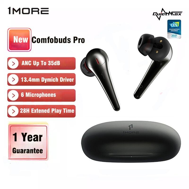 1more Comfobuds Pro ES901 ANC наушники-вкладыши TWS Bluetooth 5,0 True Беспроводной наушники с 6 микрофоны 4 модели активный Шум отмена для 35dB