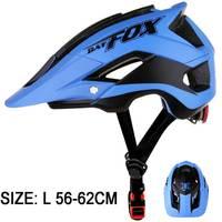 BATFOX Männer Fahrrad Helm Alle-terrai MTB Radfahren Fahrrad Helm Sport Sicherheit Helm OFF-ROAD Super Mountainbike radfahren Helm BMX