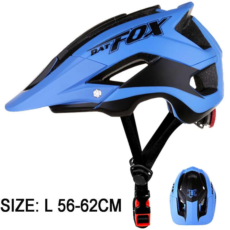 BATFOX Men Bicycle Helmet All terrai MTB Cycling Bike Helmet Sport Safety Helmet OFF ROAD Super Mountain Bike Cycling Helmet BMX|Bicycle Helmet| |  - title=