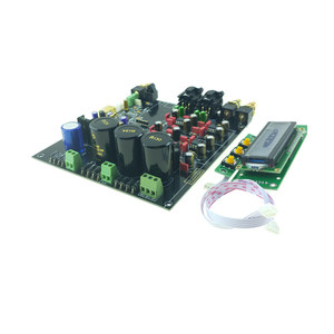 Image 1 - 2019 ES9028 ES9028PRO DAC מפענח התאסף לוח + TCXO 0.1PPM + אפשרות USB XMOS XU208 או Amanero עבור HIFI אודיו