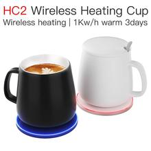 JAKCOM HC2 Wireless Heating Cup New product as gadget 2020 lighter keyboard light cargador qi wireless power bank humidifier 600w 32m twin core heating cable for power saving soil heating protection system wholesale hc2 18 600
