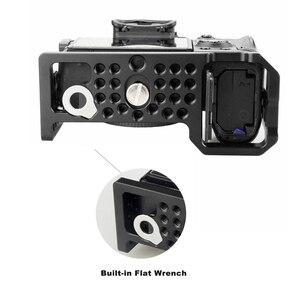 Image 4 - MAGICRIG jaula para cámara con zapata fría estándar y orificios de localización para cámara Sony A7RIII /A7III /A7M3 /A7SII /A7RII /A7II