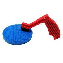 2020 neue Polieren Pads Polieren Schwamm Reinigung Werkzeuge Entfernen Wachs Rückstände Schaum Pad Klimaanlage Pinsel
