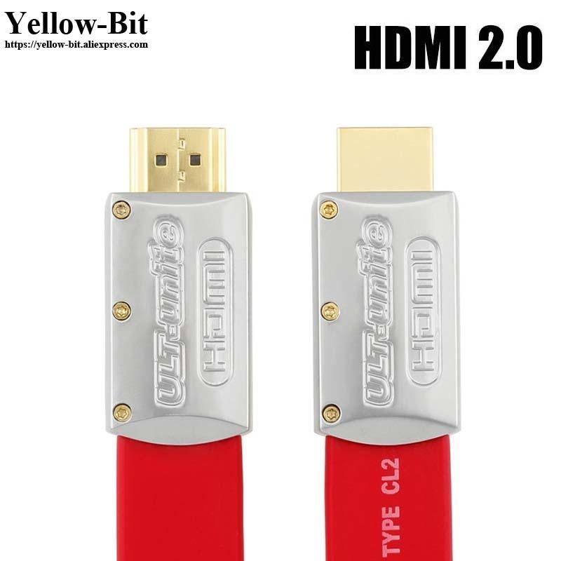 10 ft Premium HDMI V2.0 Cable Ultra High Speed 3D HDTV 2160p 4K X2K 3M