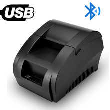Portable Receipt Printer Bluetooth 58mm USB Thermal Printer With ESC/POS Command for retail system with 1D Laser Barcode Scanner