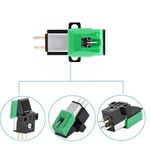 Image 5 - מגנטי מחסנית Stylus vinilo פטיפון מחטי AT95E ויניל שיא נגן Stylus 3 מהירות 13mm המגרש שיא מחסניות E65C