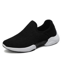 Women Flats Slip On Shoes Mesh Casual Sock Sneakers Platform 2020 Comfortable Ladies Breathable Jogging Woman