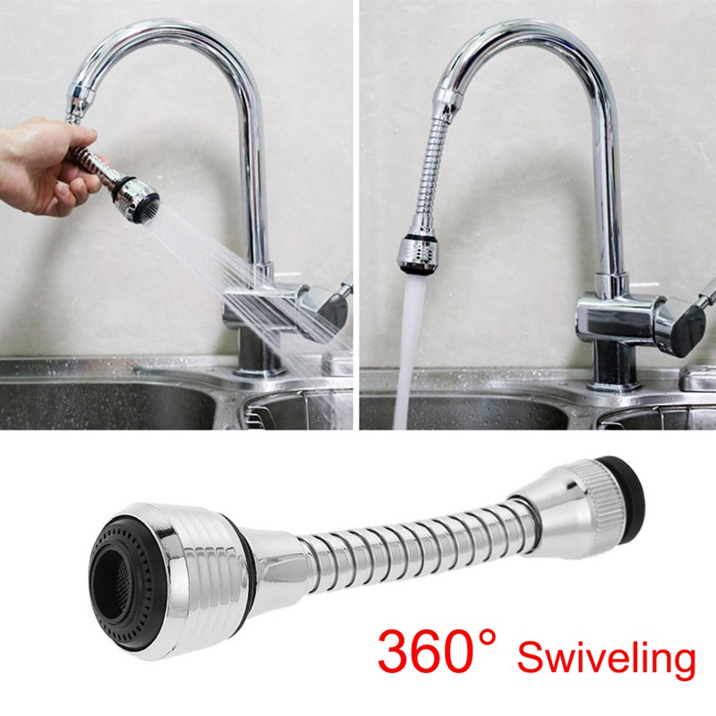 Stainless Steel 360 Degree Rotatable Water Saving Faucet Tap Aerator Faucet Nozzle Filter Water Faucet Bubbler Aerator