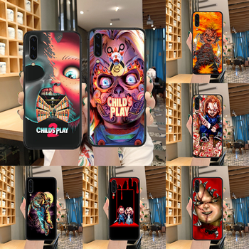 Child's Play cult of chucky Phone case For Samsung Galaxy A 3 5 7 8 10 20 20E 21S 30 30S 40 50 51 70 71 black hoesjes tpu image