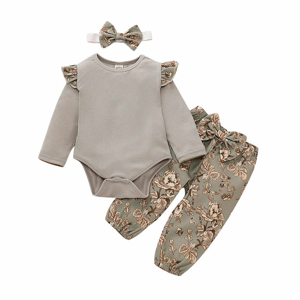 Infant Baby Toddler Boys Girls Fall Winter Clothes Outfits Set 6-24 Months,2Pcs Cute Hooded Top Pants Headbands