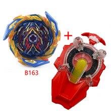Tomy-lanzador de cuerda de giro para niños, giroscopio giratorio extragrande de B-165, B163