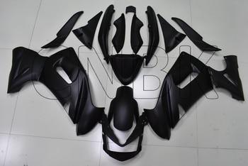 Für ER6F 2006 Verkleidungen NINJA 650R 08 07 Matter Schwarz Abs Verkleidung für Kawasaki ER-6F 2006 - 2008 Körper Kits
