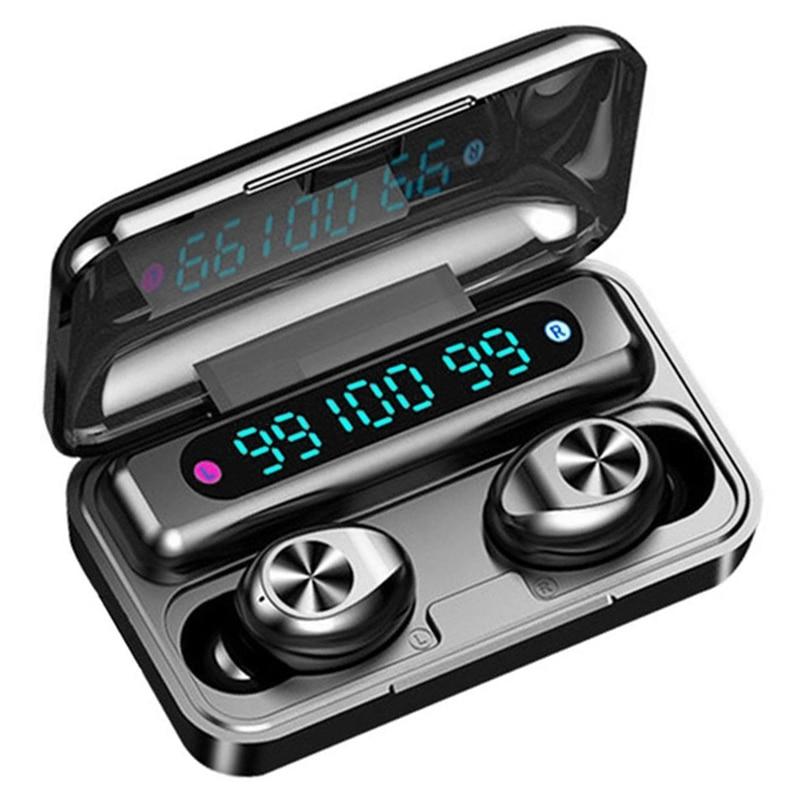 IG-F9-10 auricular Bluetooth 5,0 inalámbrico de deporte a prueba de agua de tres pantallas con micrófono para Iphone Android Módulo SX1278 SX1276 LoRa, TCXO 915MHz, E32-915T30D rf inalámbrico, transmisor y receptor inalámbrico de largo alcance de ebyte, iot