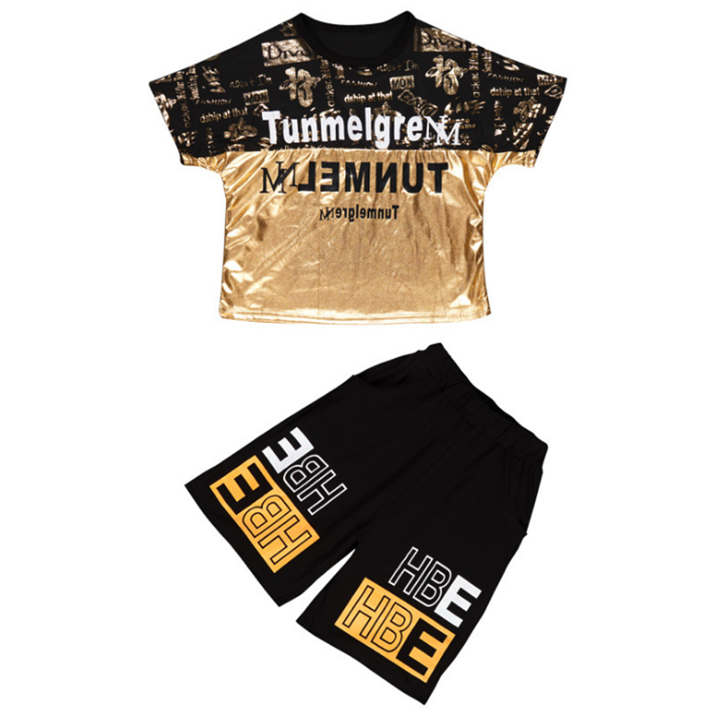 Teenage Children Boys Clothing Set Summer 2021 Letter T Shirt Hawaiian Shorts Teens Kids Boys Clothes For 6 8 10 12 13 14 Year 5