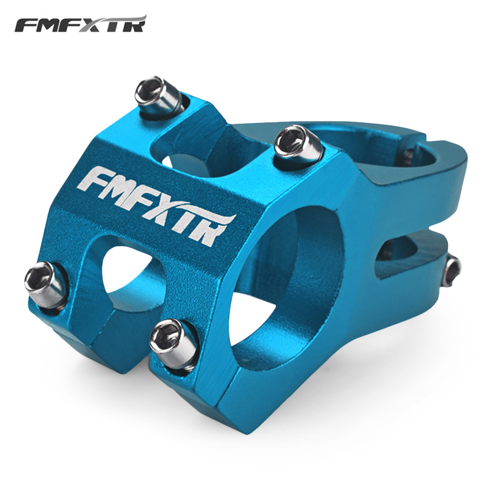 FMFXTR MTB Bike Handlebar Stem Bicycle Stem 31.8MM Cycling Bicycle Parts 4 Colors Bike Handlebar Stem Aluminum Alloy Material