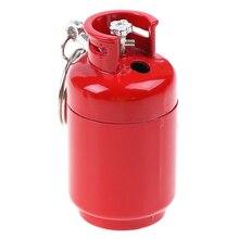 1 шт. мини творческий бутан зажигалка бензобак модель огонь стартер коллекция подарок аксессуары для сигарет